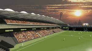 stadion interiér fin